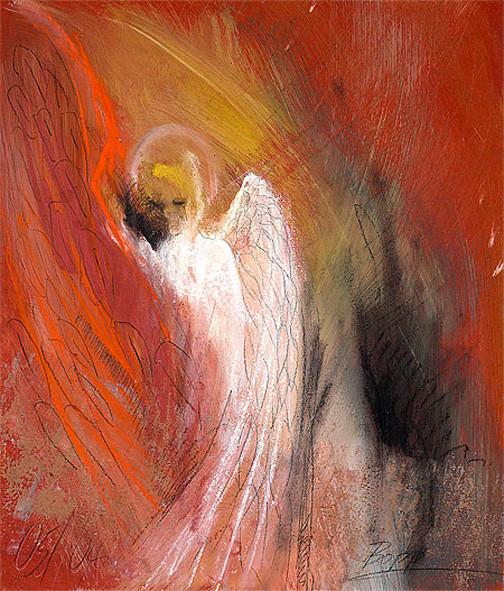 Engel der Herzenswärme / Element Feuer