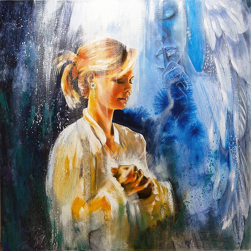 Herzenswege / Jana Haas im Kontakt mit den Engeln