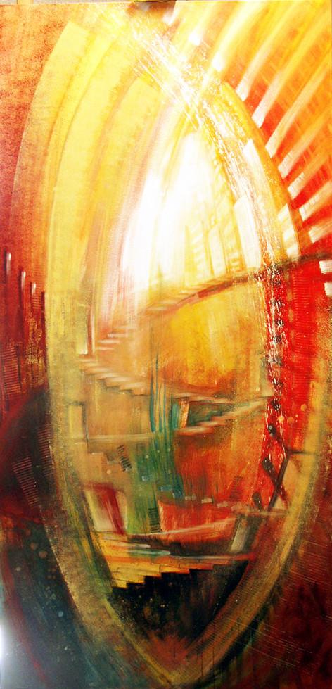 Wandbilder für Seminarhaus, Lichttor / Himmelstüren, Leinwandbilder, Kunstdruck, Poster