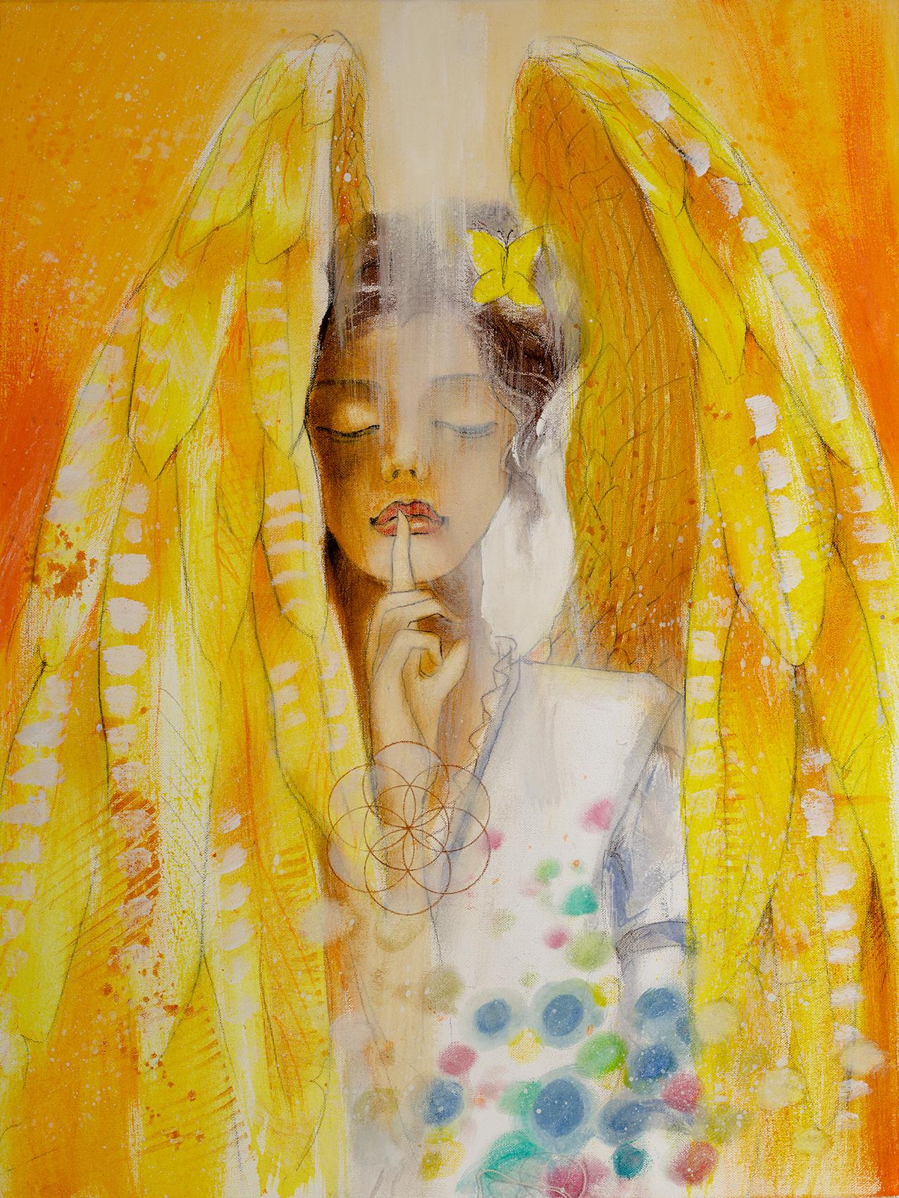 Engel der Kreativität / Innehalten Stille