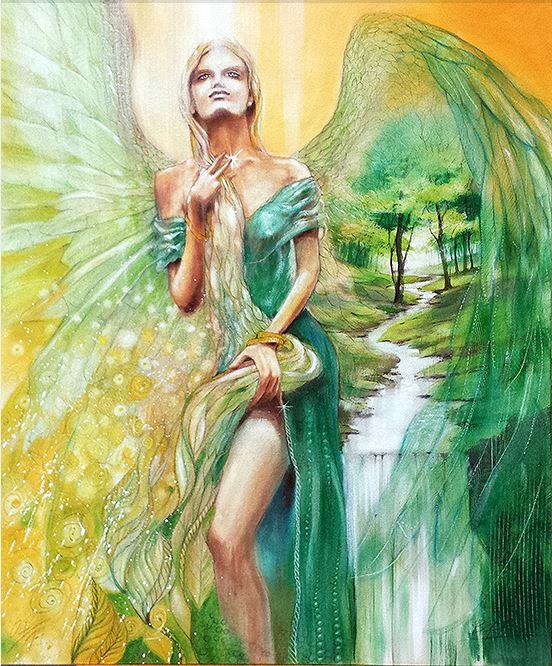 Keltische Mutter-Göttin Frayja