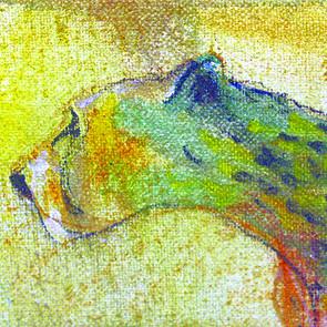 Gepart / Ausschnitt aus einem Seelenbild von Hans-Jakob Bopp