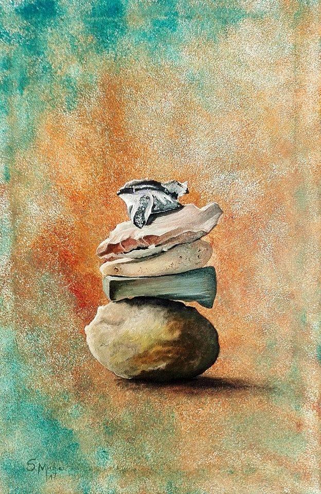 Neue Ausstellung mit Malerei von Sandra Mielka und Vernissage am 7. März