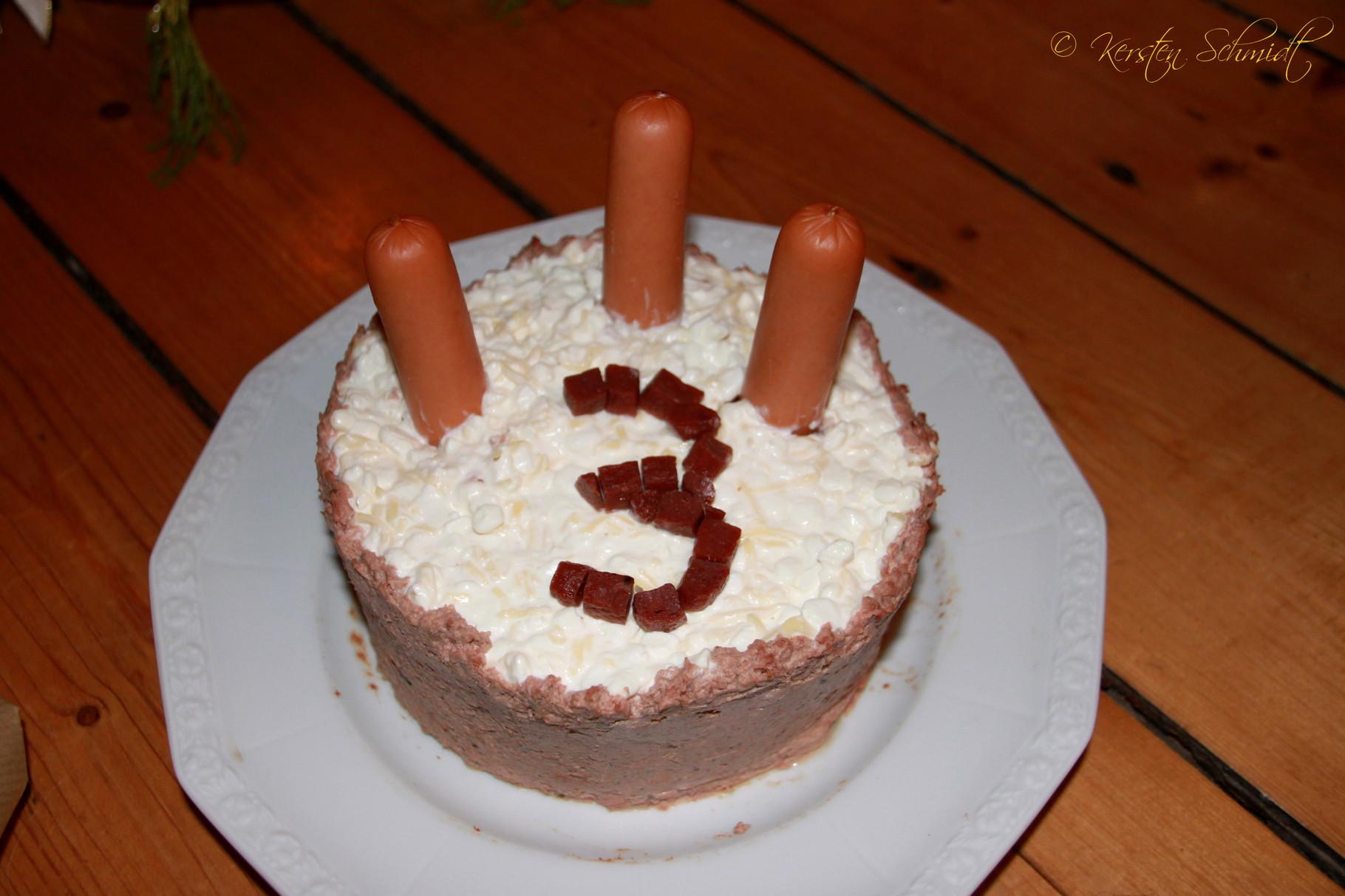 Sah die Torte nicht klasse aus???