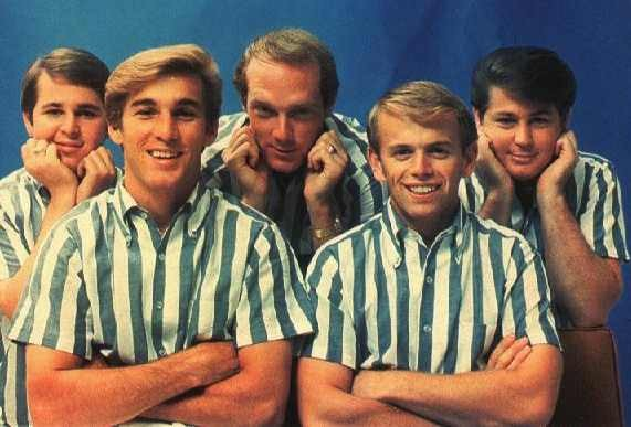 Carl Wilson, Dennis Wilson, Mike Love, Al Jardine, Brian Wilson - missing Bruce Johnston & David Lee Marks