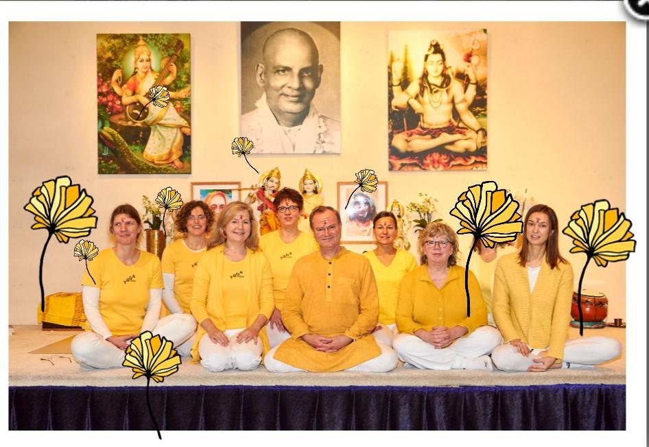Meine Ausbildungsgruppe von Yoga Vidya Nordhorn, in Bad Meinberg mit Petra Stahnke und Sukadev!!