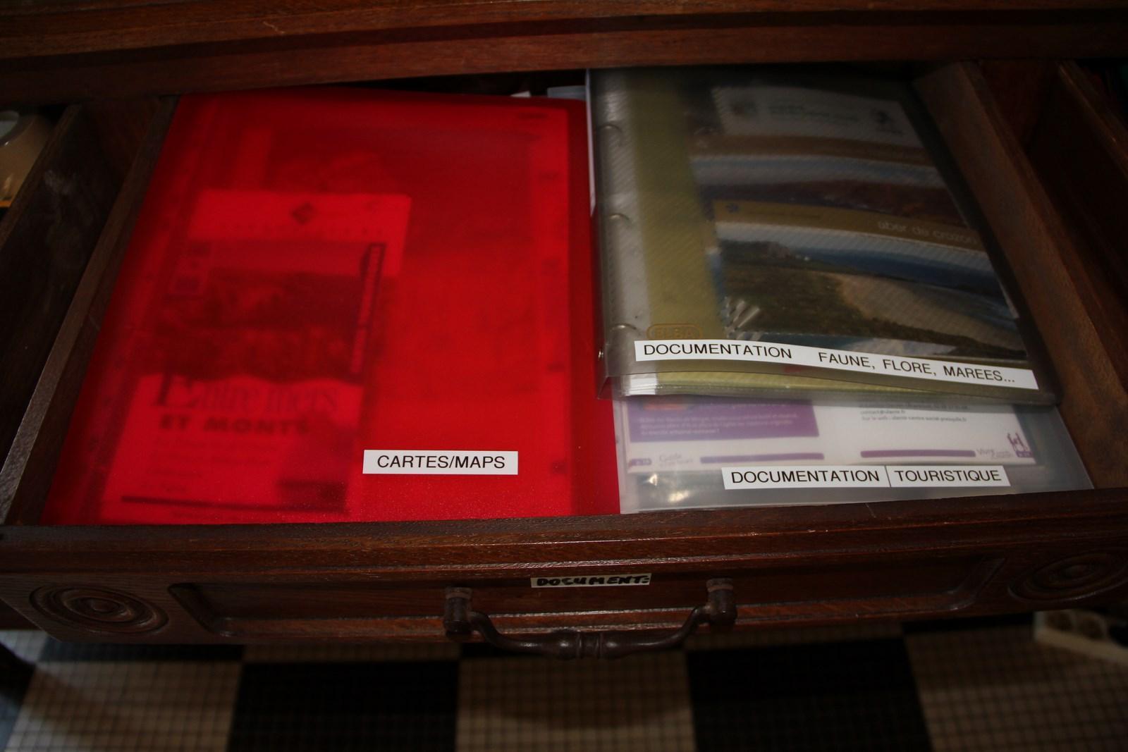 Le tiroir de la documentation