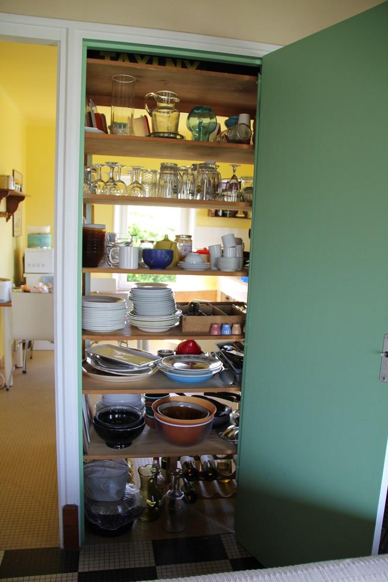Placard de la cuisine ouverture côté séjour