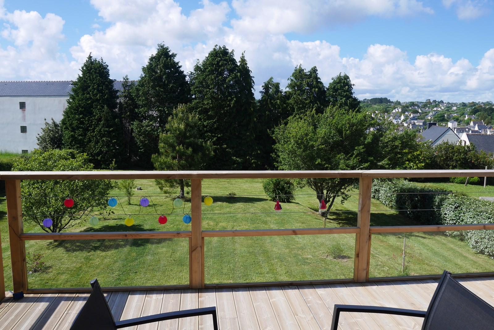 "Jardin du ""bas"" vu de la terrasse"