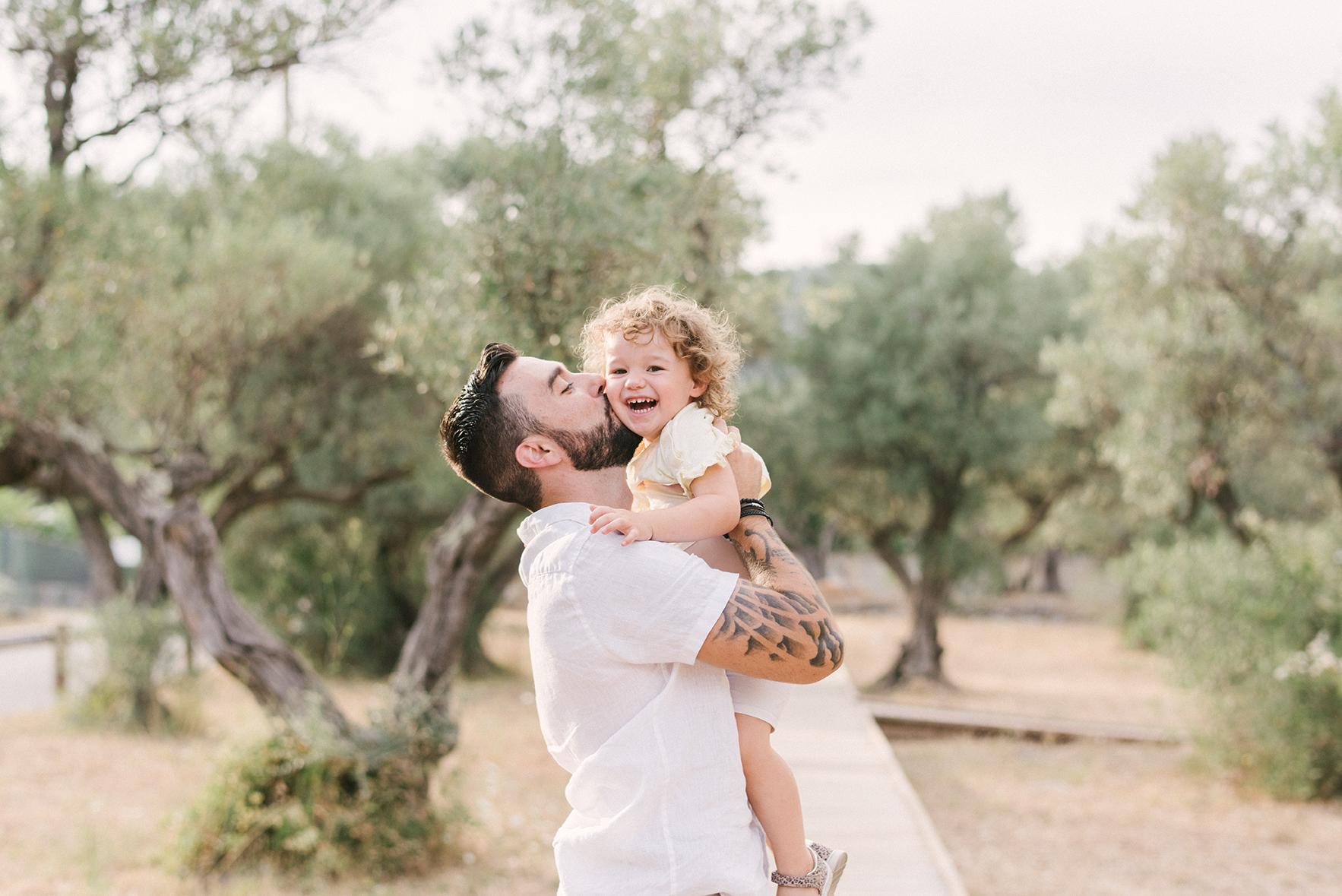 Séance famille oliveraie du Partégal