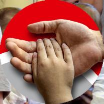 Grafik: Physiotherapie für Erwachsene und Kinder