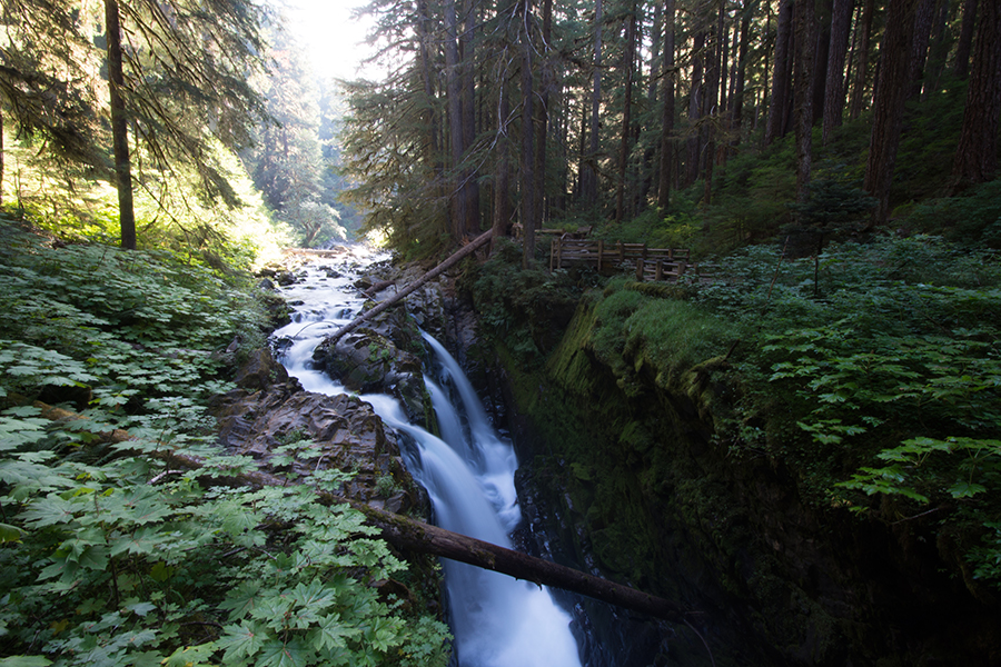 Sol Duc Wasserfall