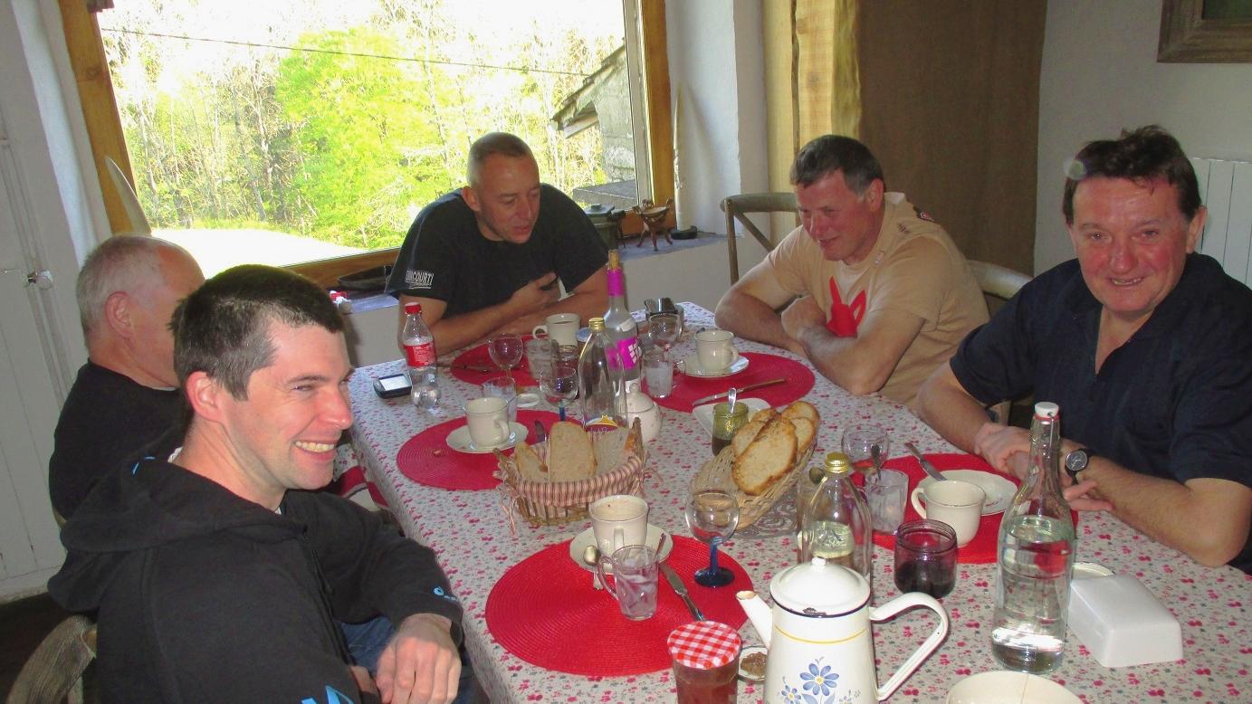 Table d'hôtes conviviale