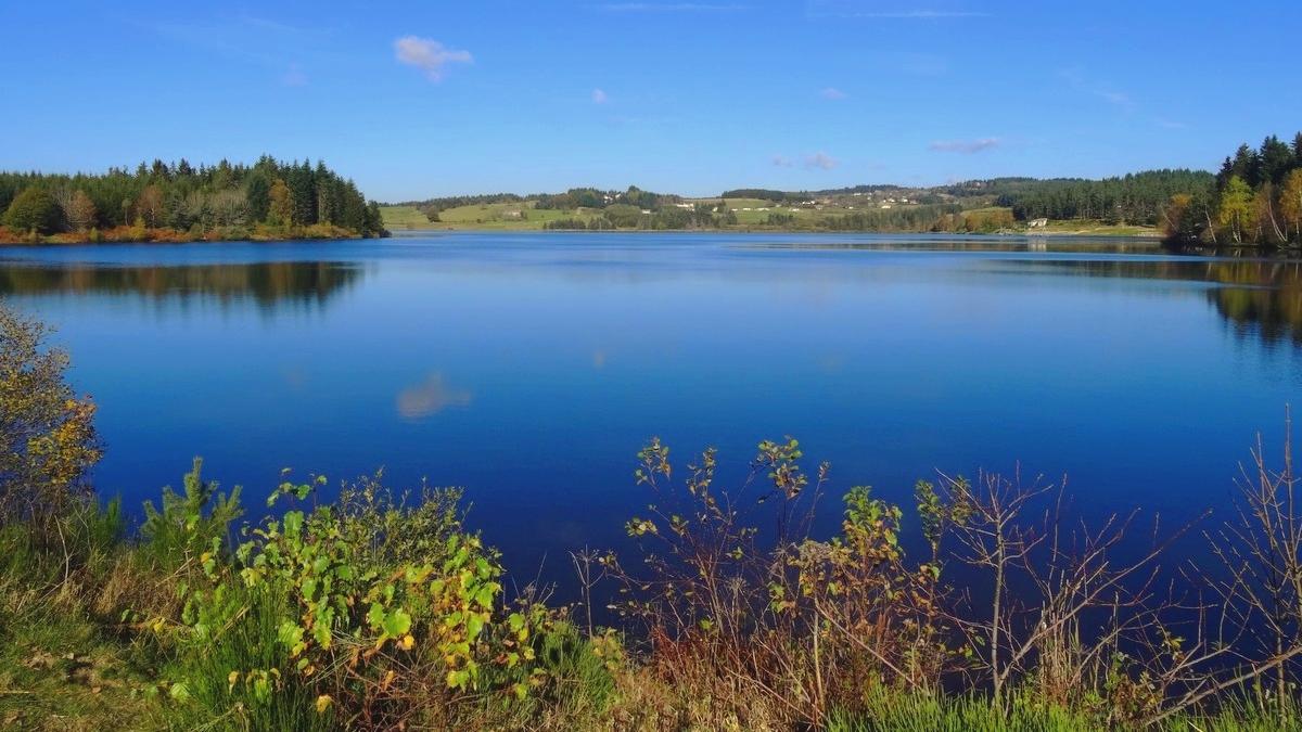 Proche du lac de Devesset