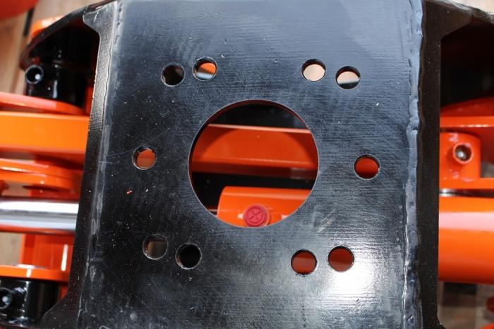 Lochbild für Flansch-Rotator und Rotator-Aufnahmen