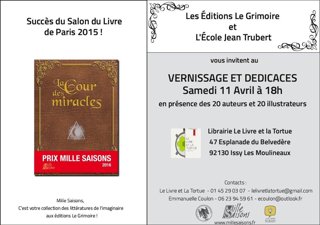 Le 11/04 47 Le Livre & la Tortue, esplanade du Belvédère 92130 Issy les Moulineaux