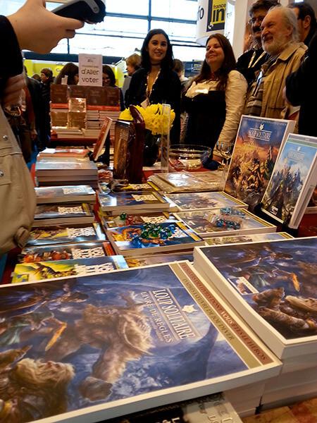 Le stand Le Grimoire au Salon du Livre de Paris 2015