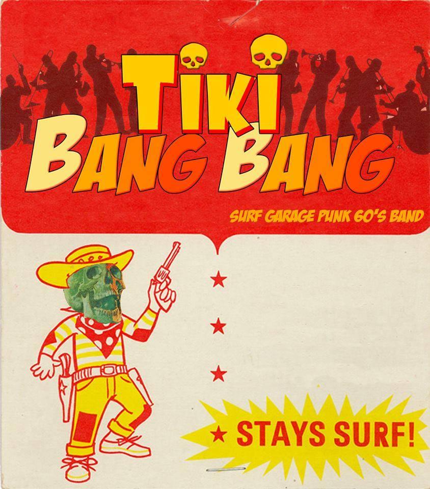 Tiki Bang Bang, de et avec mon pote Danü, jouera en première partie.