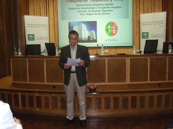 Se dio lectura de una carta enviada a la Ministra Dª Ana Mato, con la petición de más inversión para el estudio de la Hepatitis C.