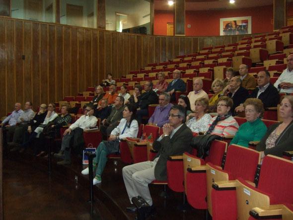 Gran interés por parte de los asistentes a la charla.