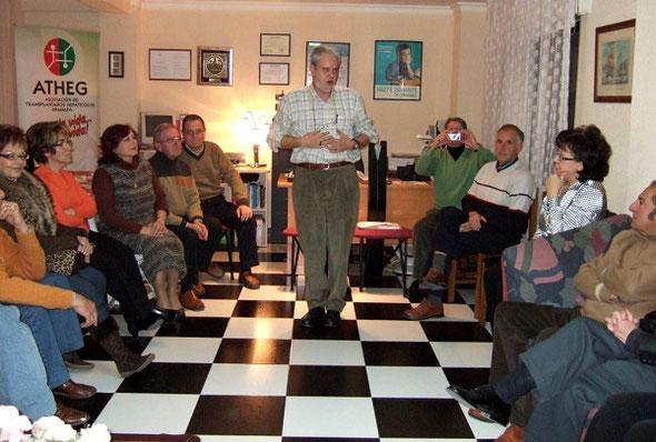 Charla-coloquio del Dr. Vílchez (Endocrinólogo). 24 Febrero 2007.