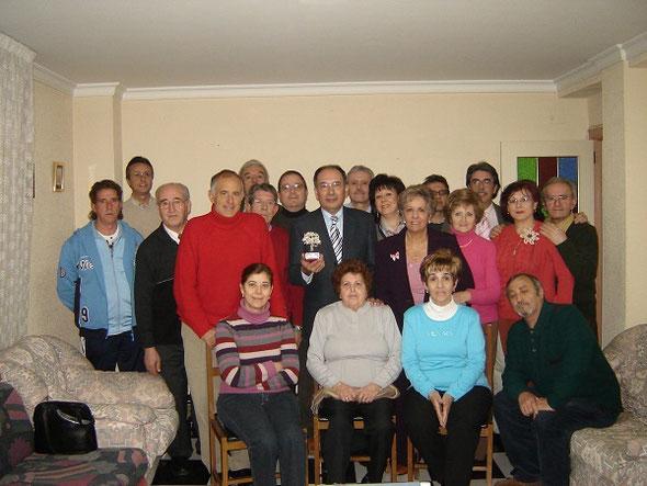 Jornada de convivencia con el Dr. Pérez Bernal. 23 Febrero 2006.