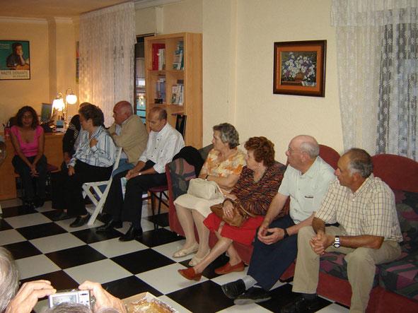 Charla de Siomara, madre donante en vivo de hígado. 17 Octubre 2007.