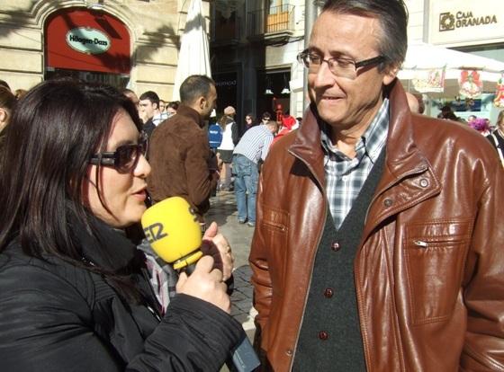 El Presidente de ATHEG, Rafael Garrido García, también fué entrevistado por la Cadena SER.