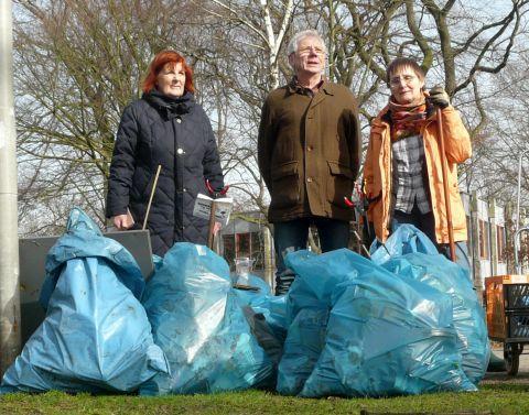 29. Febr. 2020: NABU sammelt Müll