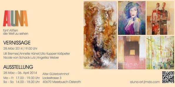 aluna · fünf ARTen die welt zu sehen · © aluna-art
