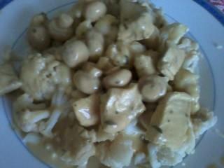 Dinde moutarde avec champignons (Cf. commentaire de Chantal)