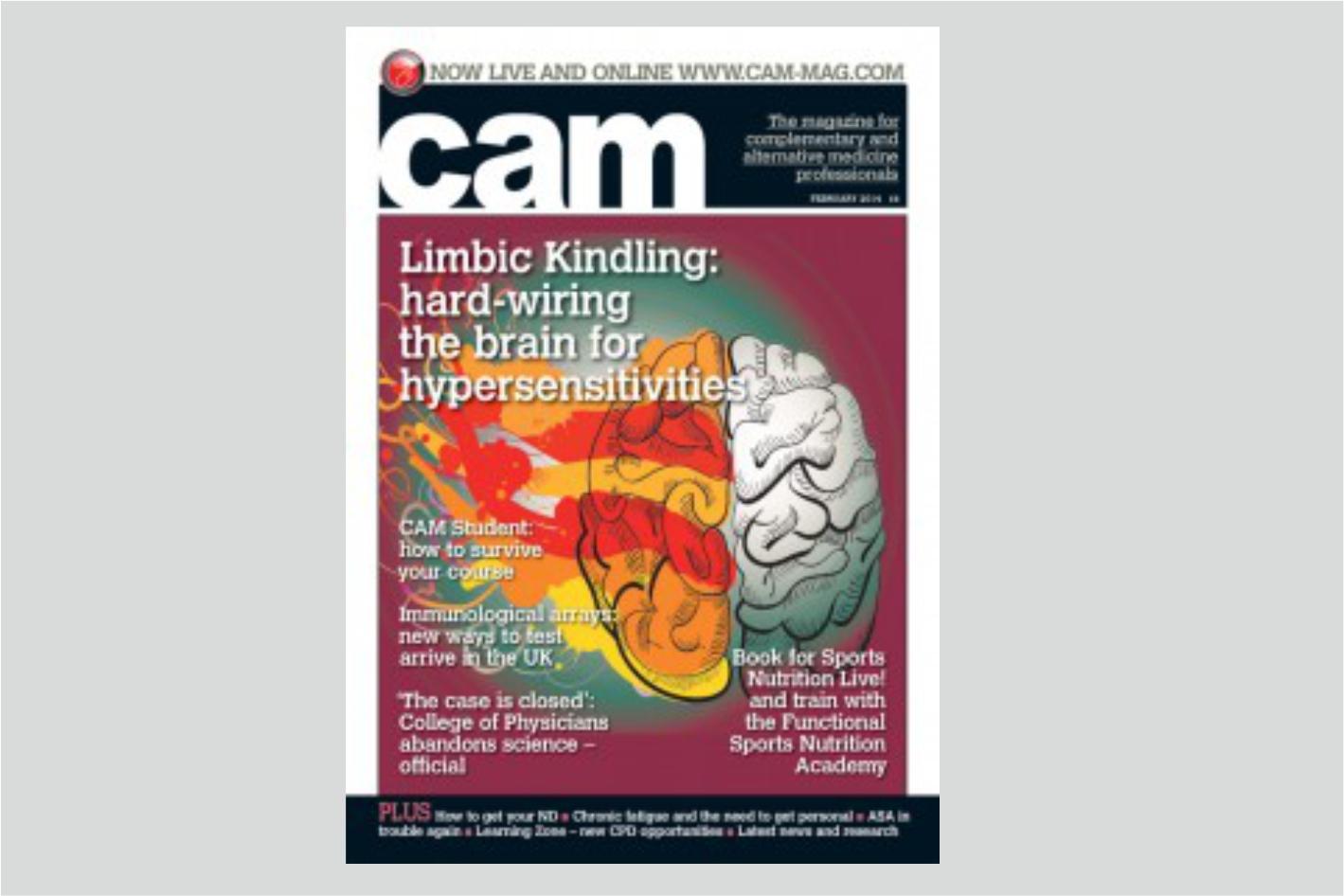 Kindling/Accensione Limbica: Hard Wiring/Il cablaggio del cervello per l'ipersensibilità e per la sindrome da stanchezza cronica