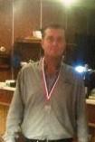 Martien Jaspers District en gewestelijk kampioen driebanden 2e klas en 8e op het NK