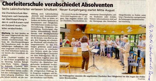 Chorleiterschule