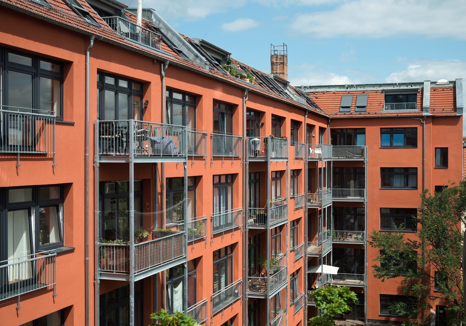 Wohnungsbau in Berlin Prenzlauer Berg