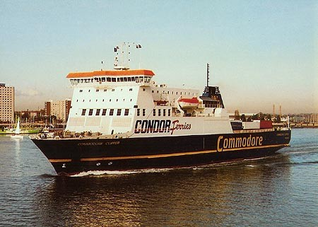 M/V Commodore Clipper quittant Portsmouth, © Ian Boyle