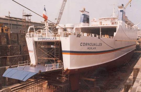M/V Cornouailles, photo D.R.