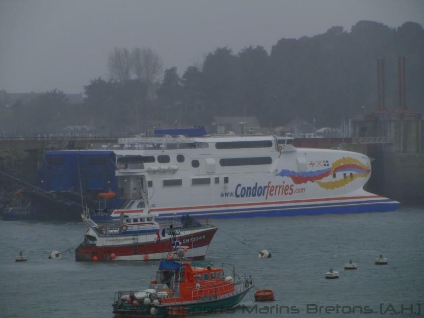 HSC Condor Vitesse à Saint-Malo, photo : Antoine