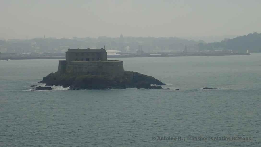 Le Petit Bé, fort construit sous les ordres de Vauban à la fin du XVIIème siècle pour protéger Saint-Malo de toute attaque britannique ou néerlandaise