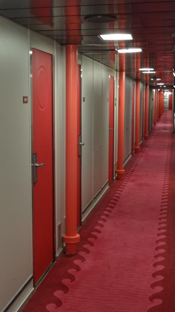 Couloirs de cabines