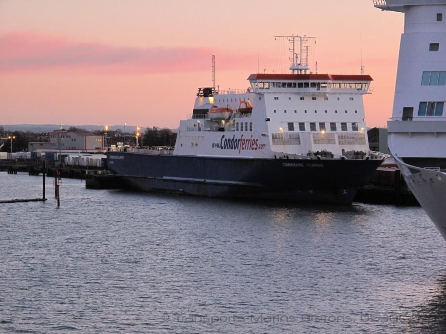 M/V Commodore Clipper à quai à Portsmouth, © O530C2N