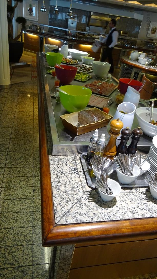 Buffet des plats principaux