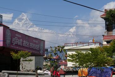 Pokhara mit Annarpurna
