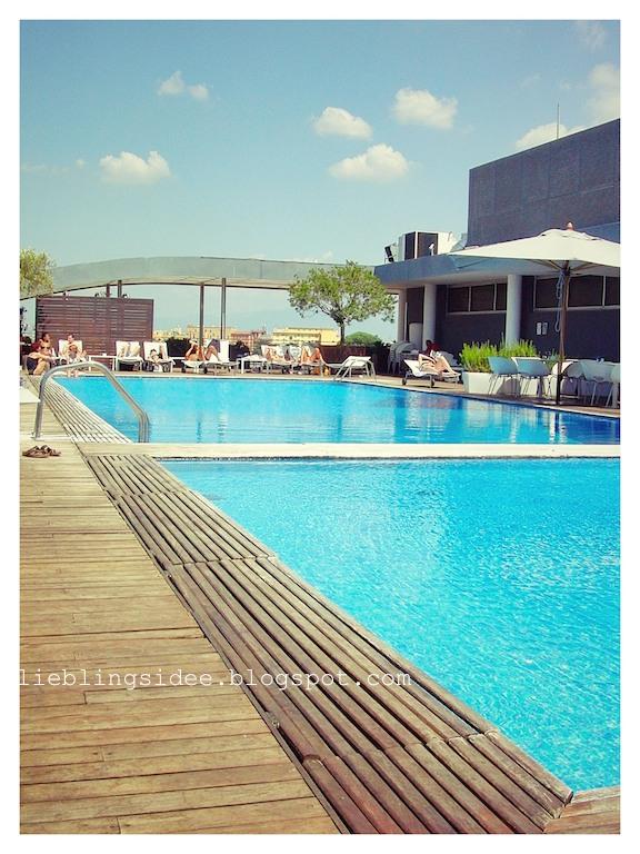 Lieblingsidee - Rom - Hotelpool Radisson Blu