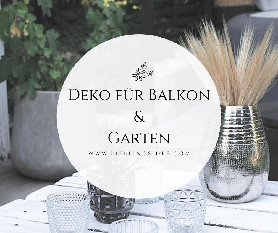 Garten Balkon Dekoration