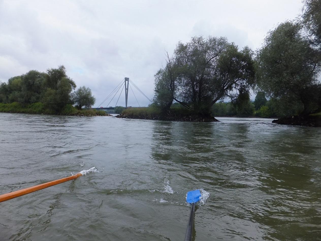 Autobahnbrücke Deggendorf beim Hafen