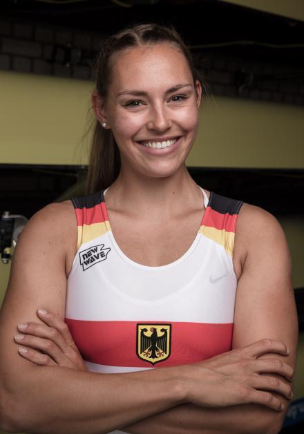 Sonja Schlosser Platz 4 bei U 23 WM