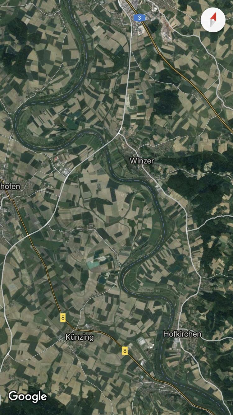 Abschnitt Mühlhamer Schleife