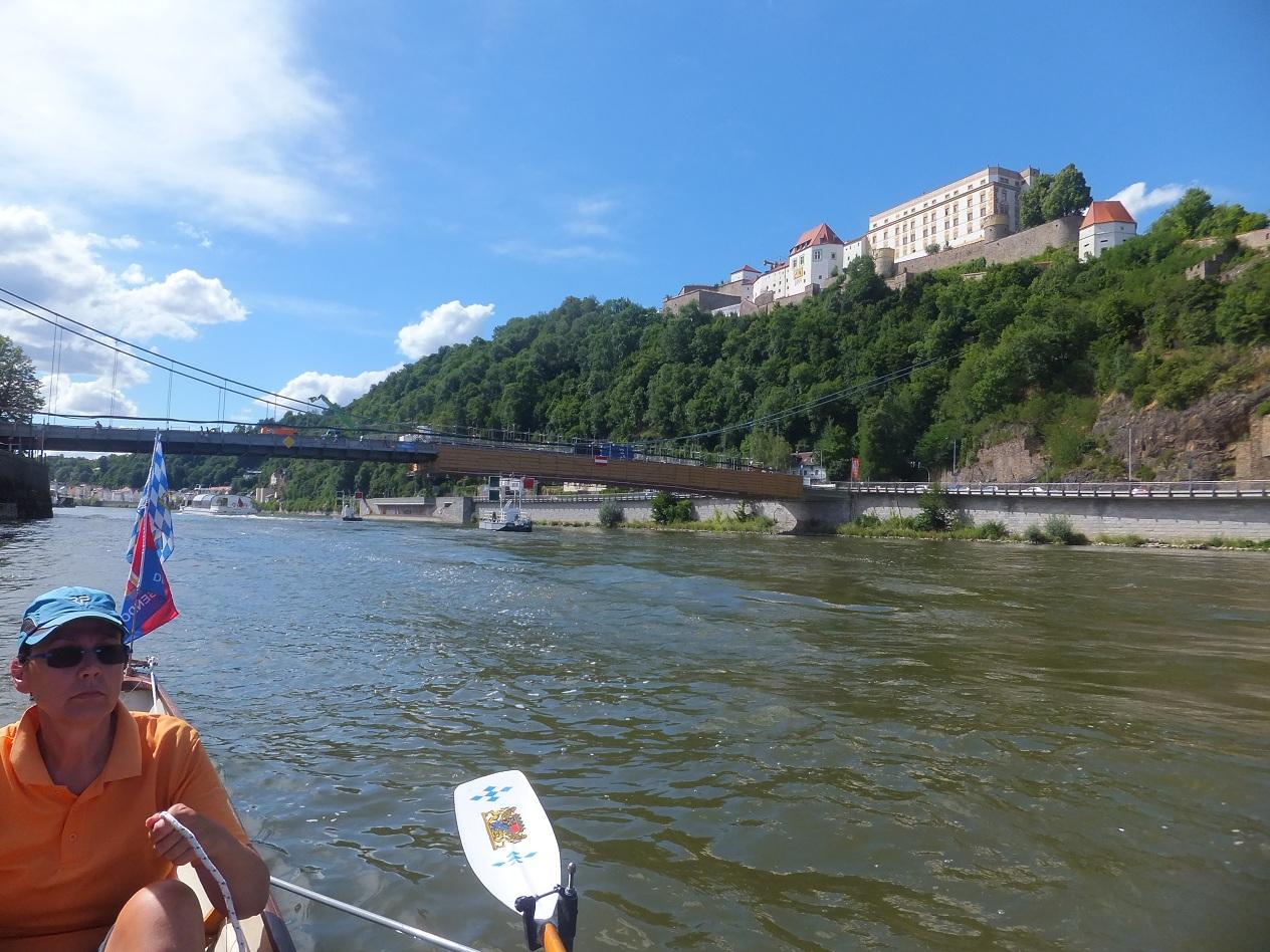 Stadtdurchfahrt Passau