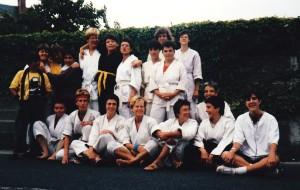 1985 mit Barbara Yates in L'Enfumée